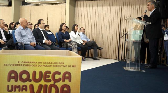 Reinaldo participa da campanha 'Aqueça uma Vida'. - Crédito: Foto: Divulgação