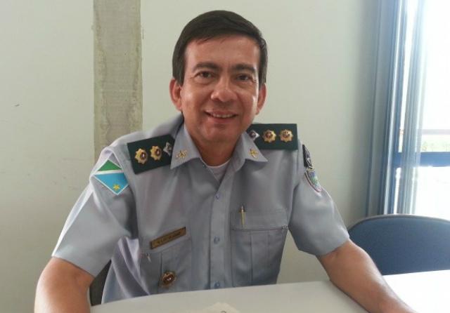 Alírio Villasanti, presidente da Associação dos Oficiais Militares Estaduais de Mato Grosso do Sul. - Crédito: Foto: Divulgação