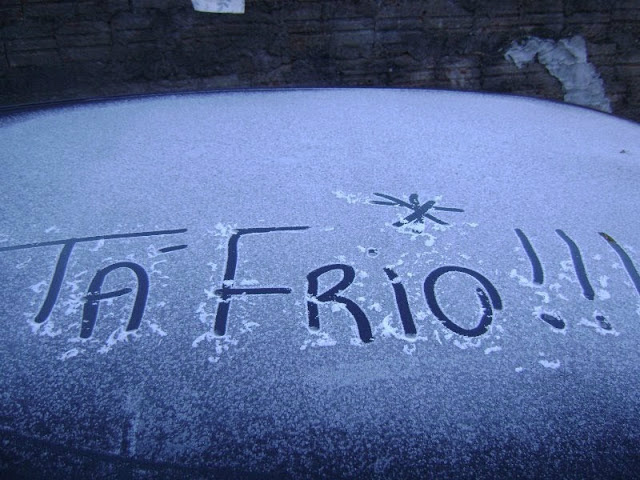Madrugada foi a segunda mais fria do ano na cidade, e marcou 5,9 graus. - Crédito: Foto: Divulgação