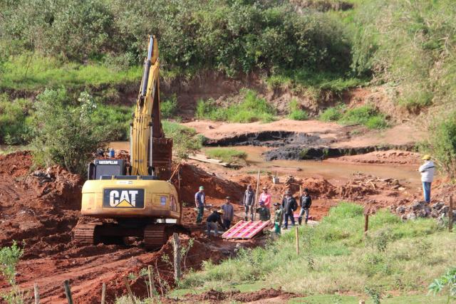 Drenagem de águas pluvias deve ser concluída em até 90 dias. - Crédito: Foto: Assessoria