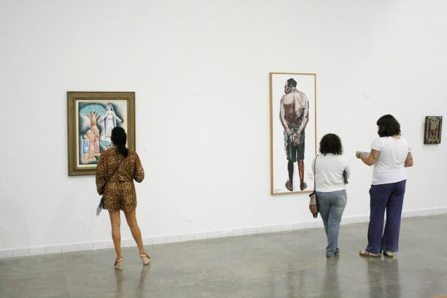 Trabalhos à mostra durante a 1ª Temporada de Exposições do Museu de Arte Contemporânea de Mato Grosso do Sul - Crédito: Foto: Divulgação