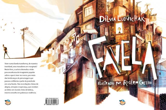 """Com linguagem simples e poética, o livro """"Favela"""" mostra outra visão sobre o viver infantil nas comunidades. - Crédito: Foto: Divulgação"""