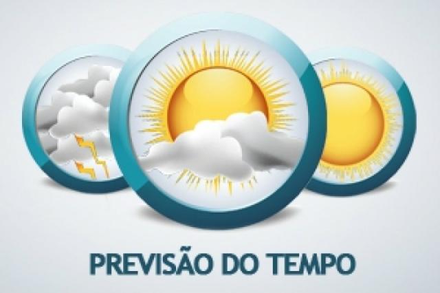 A previsão do tempo para esta segunda-feira - Crédito: Foto: Divulgação
