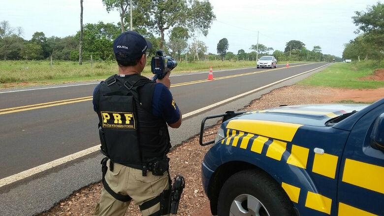 Realizada de 24 a 29 de maio, a operação registrou ainda 3682 multas para condutores, das quais 2614 captadas com imagem de radar. Foto: PRF -