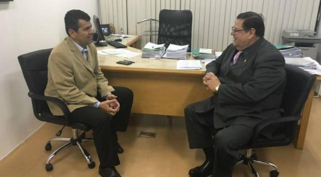 Agência e PGE discutem implementação do Fundo Penitenciário Estadual. - Crédito: Foto: Divulgação