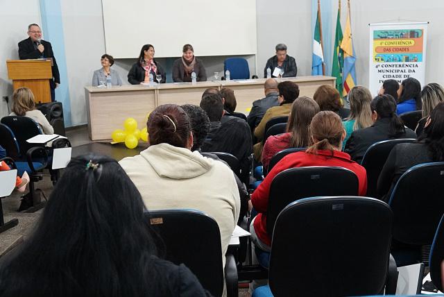 Conferência das Cidades foi realizada e discutiu temas sobre desenvolvimento urbano e utilização de espaços públicos. - Crédito: Foto: Paulo César