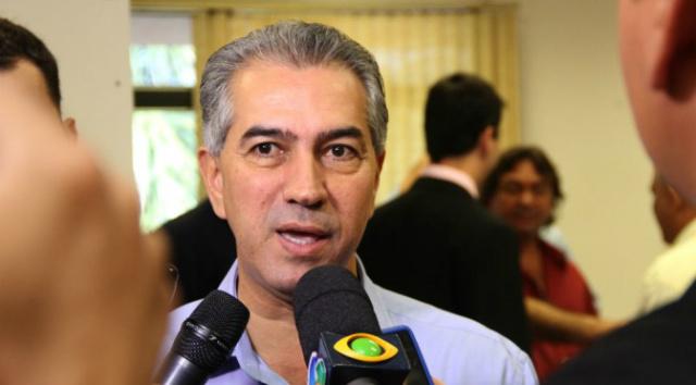 Logo mais, às 10 horas, Reinaldo acompanha a solenidade de ampliação do Projeto Fibria. - Crédito: Foto: Divulgação