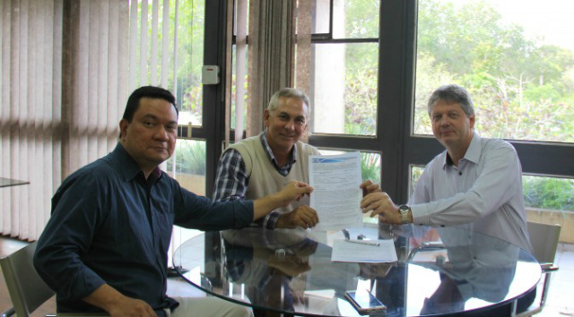 A criação de um novo distrito industrial em Mato Grosso do Sul foi pauta de reunião nesta segunda-feira - Crédito: Foto: Divulgação