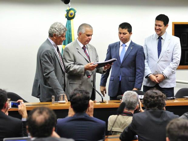 O presidente do Conselho de Ética da Câmara, deputado José Carlos Araújo - Crédito: Foto: Zeca Ribeiro/Câmara dos Deputados