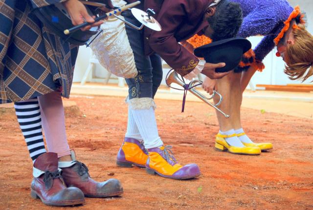 Mostra de Teatro de Rua Esquenta RBTR-MS, realiza apresentações gratuitas de espetáculos de rua em bairros e comunidades quilombolas de diferentes localidades do Brasil. - Crédito: Foto: Laila Pulchério