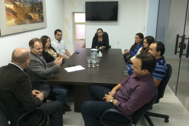 UEMS de Ponta Porã e ACEPP reforçam parceria para o desenvolvimento do município. - Crédito: Foto: Nivalcir Almeida