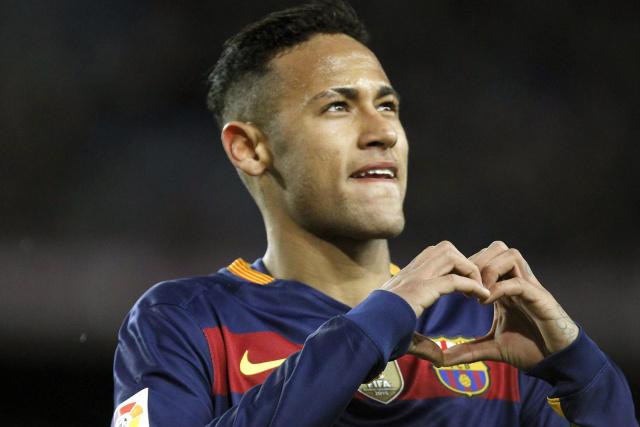 O atacante Neymar está entre os 100 atletas mais famosos do mundo. - Crédito: Foto: Divulgação