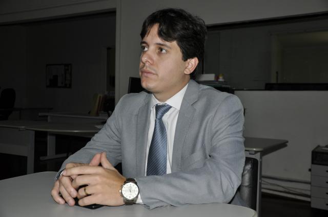 Sárgom Ceranto é o coordenador da FGV em Dourados. - Crédito: Foto: Hédio Fazan