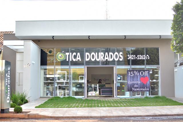 Ótica Dourados está em novas instalações, à Melvin Jones, no centro. - Crédito: Foto: Marcos Ribeiro