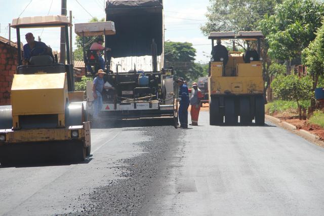 Prefeitura prepara licitação para asfalto no Beija-Flor, nas proximidades do Terminal Rodoviário, com o Sol Nascente e Oásis. - Crédito: Foto: Arquivo