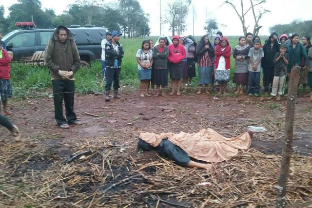 Indígena de 17 anos, foi assassinado com um golpe de foice. - Crédito: Foto: Cido Costa