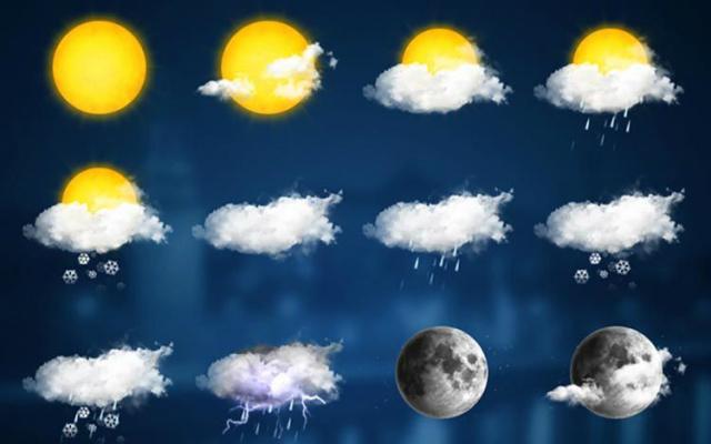 Em Dourados, possíveis pancadas de chuva o dia inteiro. - Crédito: Foto: Divulgação