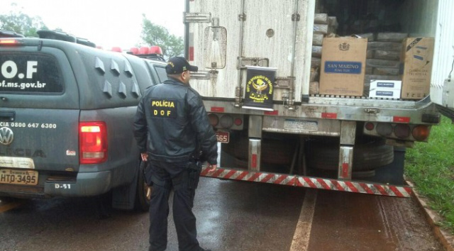 Policiais do Departamento de Operações de Fronteira - Crédito: Foto: DOF, Divulgação