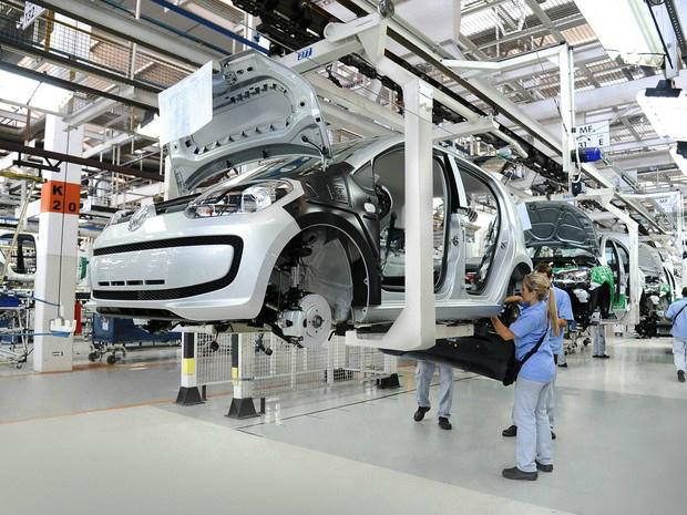 Produção de veículos no Brasil recua em linha com as vendas. - Crédito: Foto: Divulgação