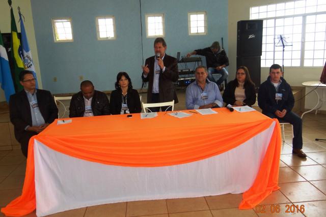 Conferência das cidades debateu políticas públicas, traçou metas e estratégias para Laguna Carapã. - Crédito: Foto: Simone Burin