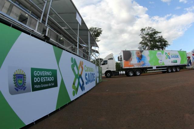 Hospital recebe novos equipamentos com chegada de Caravana hoje - Crédito: Foto: Divulgação