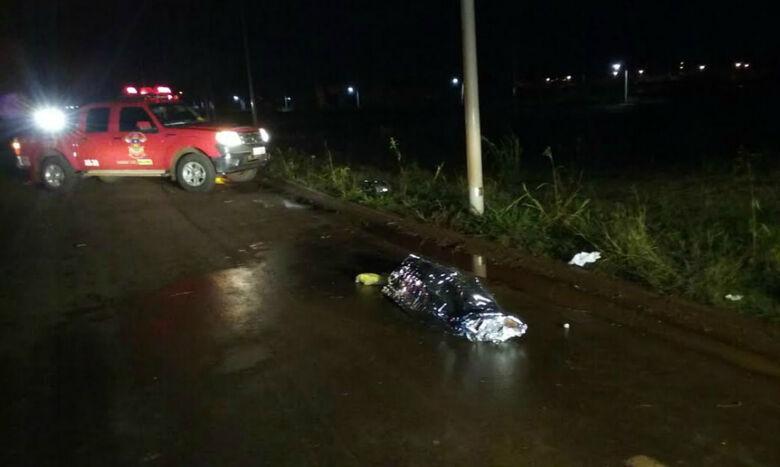 Primos morreram depois de moto bater em poste Foto: Cido Costa/Dourados Agora -