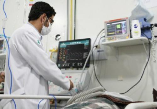Hospital da Vida em Dourados, onde morador de Naviraí morreu, dia 28 - Crédito: Foto: Campo Grande News