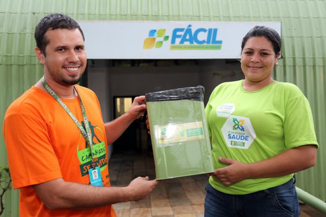 Willian e Emília se uniram para colocar em prática a ideia de reciclagem – Foto: David Majella  -