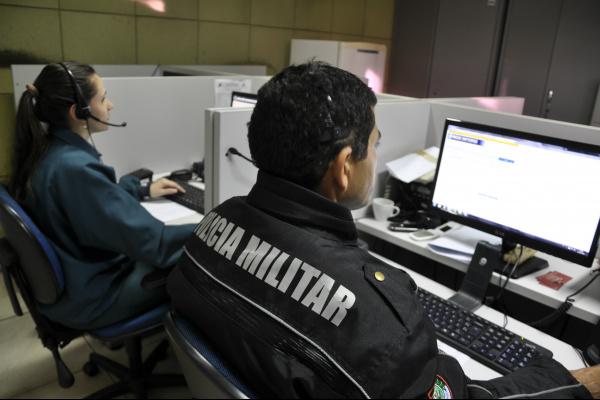 Centro Integrado de Operações da Polícia Militar  recebe 2 mil ligações por mês em Dourados -