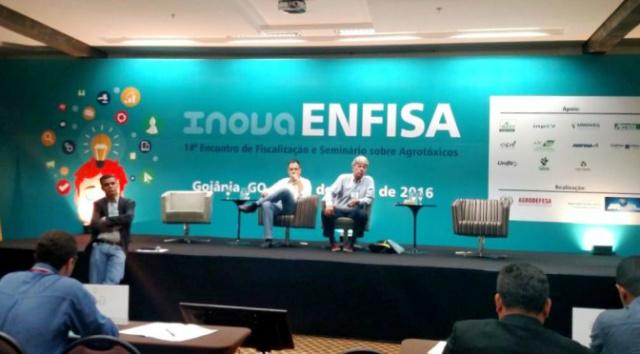 Mato Grosso do Sul esta representada na 14ª edição do Encontro de Fiscalização e Seminário Sobre Agrotóxicos - Crédito: Foto: Divulgação