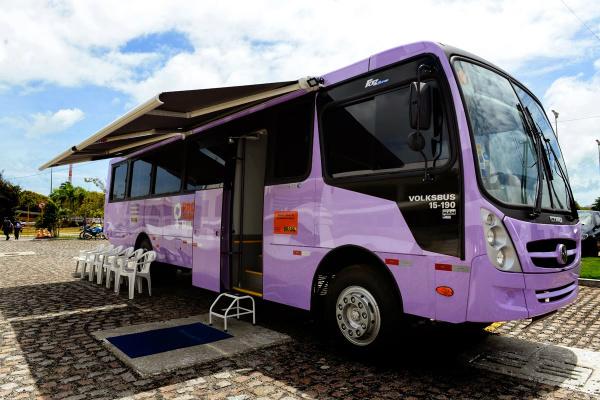 A prefeitura de Ivinhema em parceria com o governo do Estado de MS, realiza ação de atendimento às mulheres -