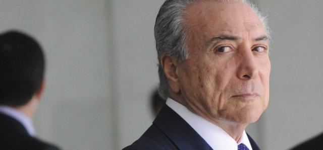 Michel Temer. - Crédito: Foto: Divulgação