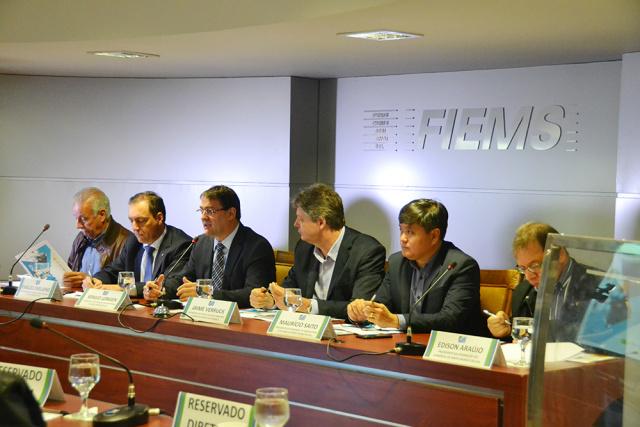 Superintendência do Banco do Brasil assinou ontem o termo para liberar R$ 351 milhões, via FCO, para os setores industrial, comercial e agropecuário. - Crédito: Foto: Divulgação