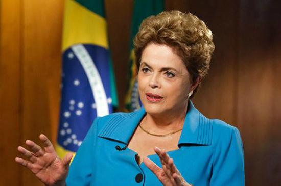 Presidente afastada. - Crédito: Foto: Divulgação
