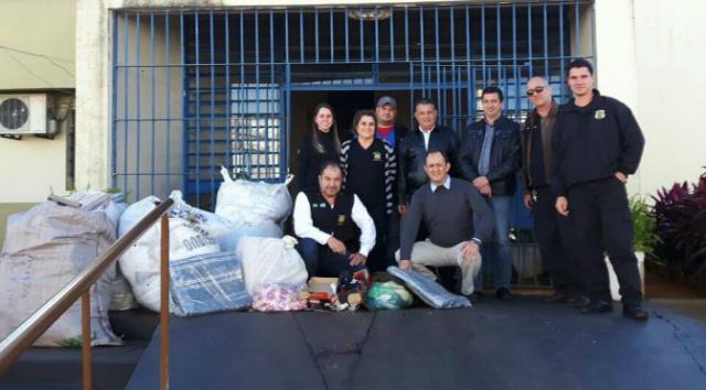 Campanha da Agepen recebe cobertores e agasalhos para internos da Penitenciária -