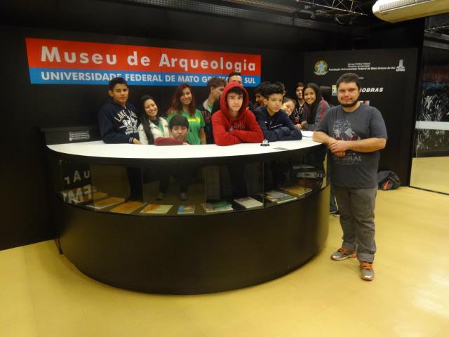 Educandos do Ensino Médio conheceram quatro museus importantes, em Campo Grande. -