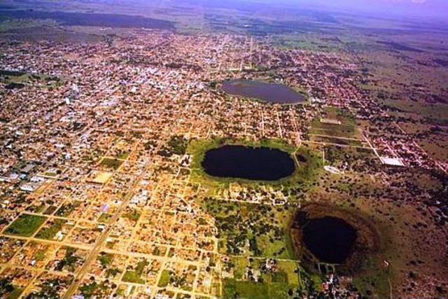 Vista aérea da cidade Três Lagoas - Mato Grosso do Sul. - Crédito: Foto: Divulgação