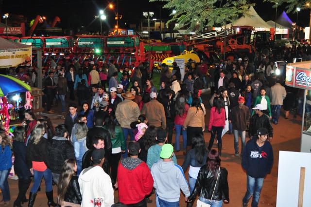 Entrada ao Parque de Exposições foi gratuita todos os dias da Exporama. - Crédito: Foto: Divulgação