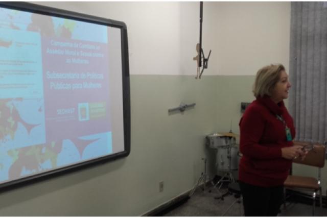Palestras são realizadas em escolas da Rede Estadual do MS. - Crédito: Foto: Divulgação
