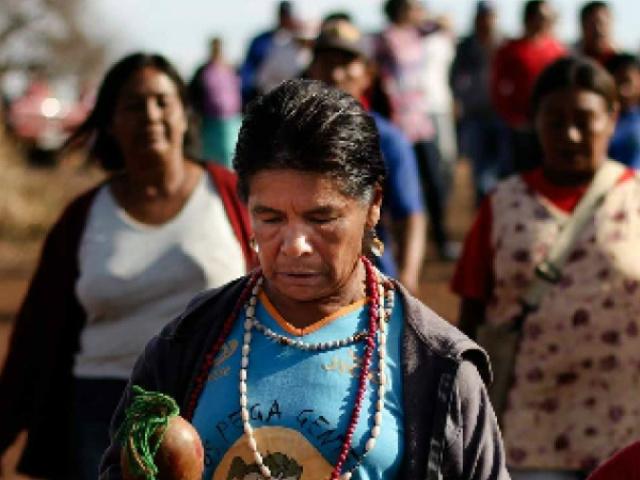 Comunidade Kaiowa e Guarani. - Crédito: Foto: Divulgação