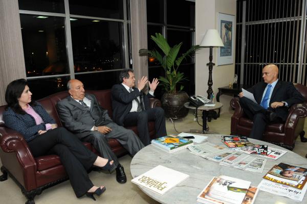 Senadores se reúnem com ministro da Justiça para tratar de conflito em MS -