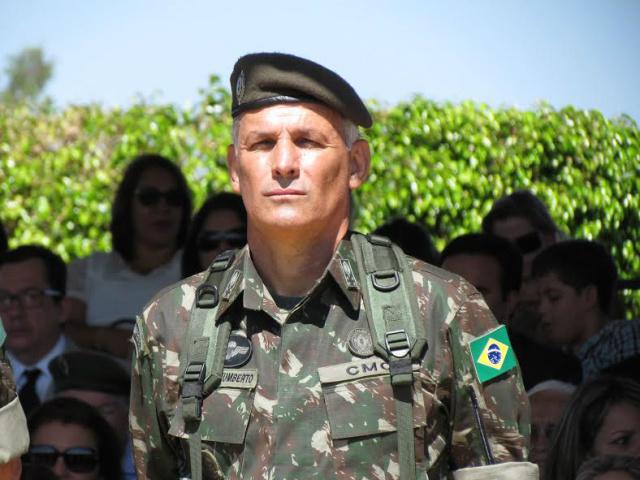 General Paulo Humberto coordena a Operação Ágata 11 na fronteira Oeste do país. - Crédito: Foto: Elvio Lopes