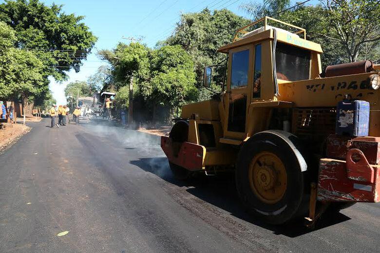 Chuvas param e Prefeitura retoma as obras de asfaltamento no residencial Sol Nascente, antigo Jardim Canaã II Foto: A. Frota -