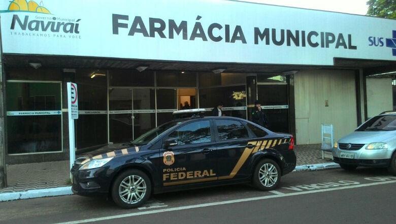 Participam da operação 90 policiais federais e nove servidores da CGU Foto: Umberto Zum/TanaMidia Naviraí -