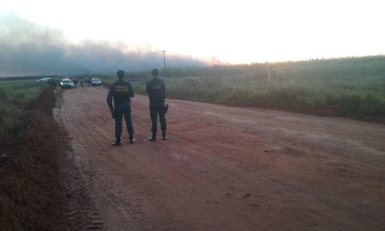 Clima continua tenso em área de conflito na cidade de Caarapó Foto: CIdo Costa/Dourados Agora -