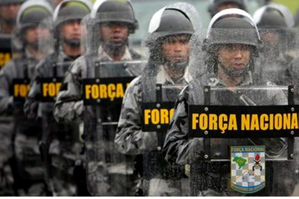 Tropas irão auxiliar as forças policiais a fim de restabelecer a ordem pública -