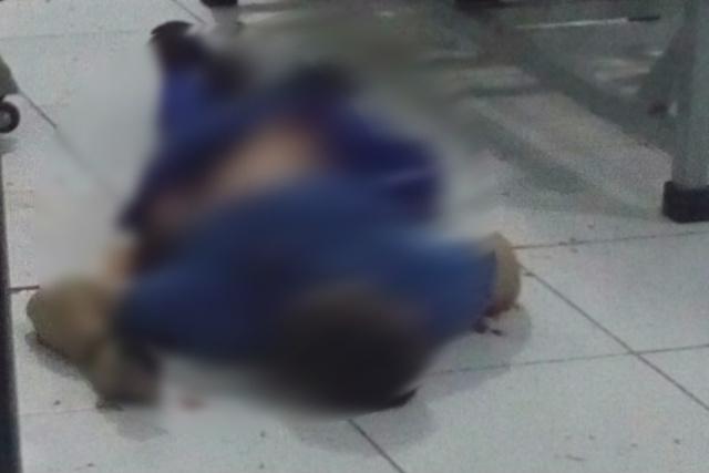 Policial foi atingido por tiros de fuzil e morreu dentro da academia. - Crédito: Foto: Divulgação