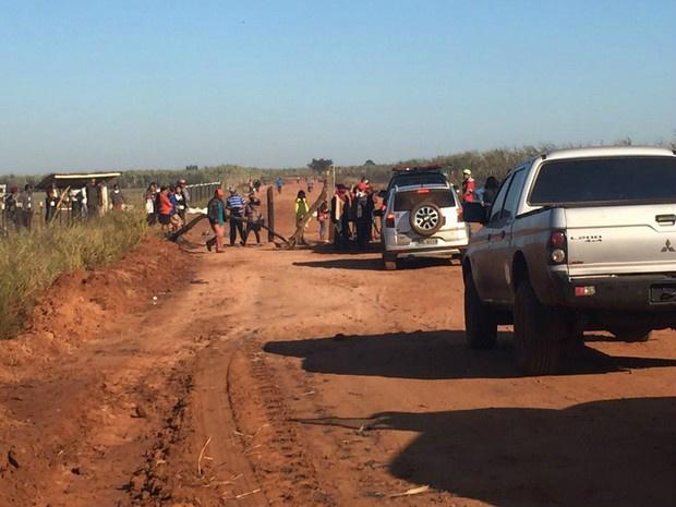 Agentes da Força Nacional e deputados seguem hoje para conflito - Crédito: Foto: Gabriela Pavão/ G1 MS
