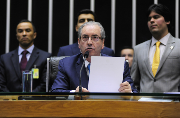 Presidente afastado da Câmara, Eduardo Cunha - Crédito: PMDB-RJ