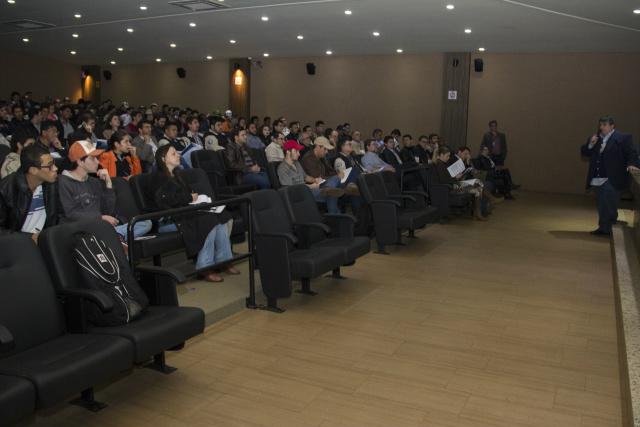Evento aconteceu na Unigran. - Crédito: Foto: Divulgação